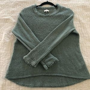 Lucky Brand Sage Sweater with Fringe